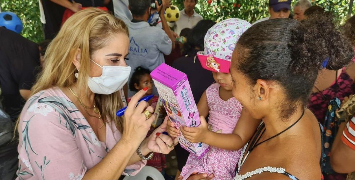 Cabrália: Mês da Criança termina com sucesso em Guaiú